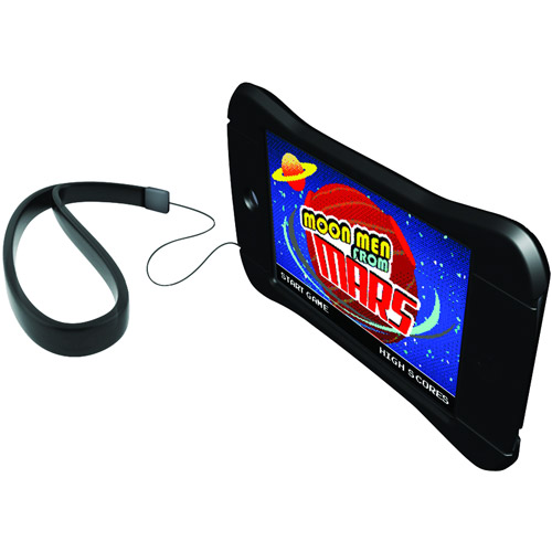 Griffin FlexGrip Action - Protective cover for player - silicone - black - for Apple iPod touch (4G)