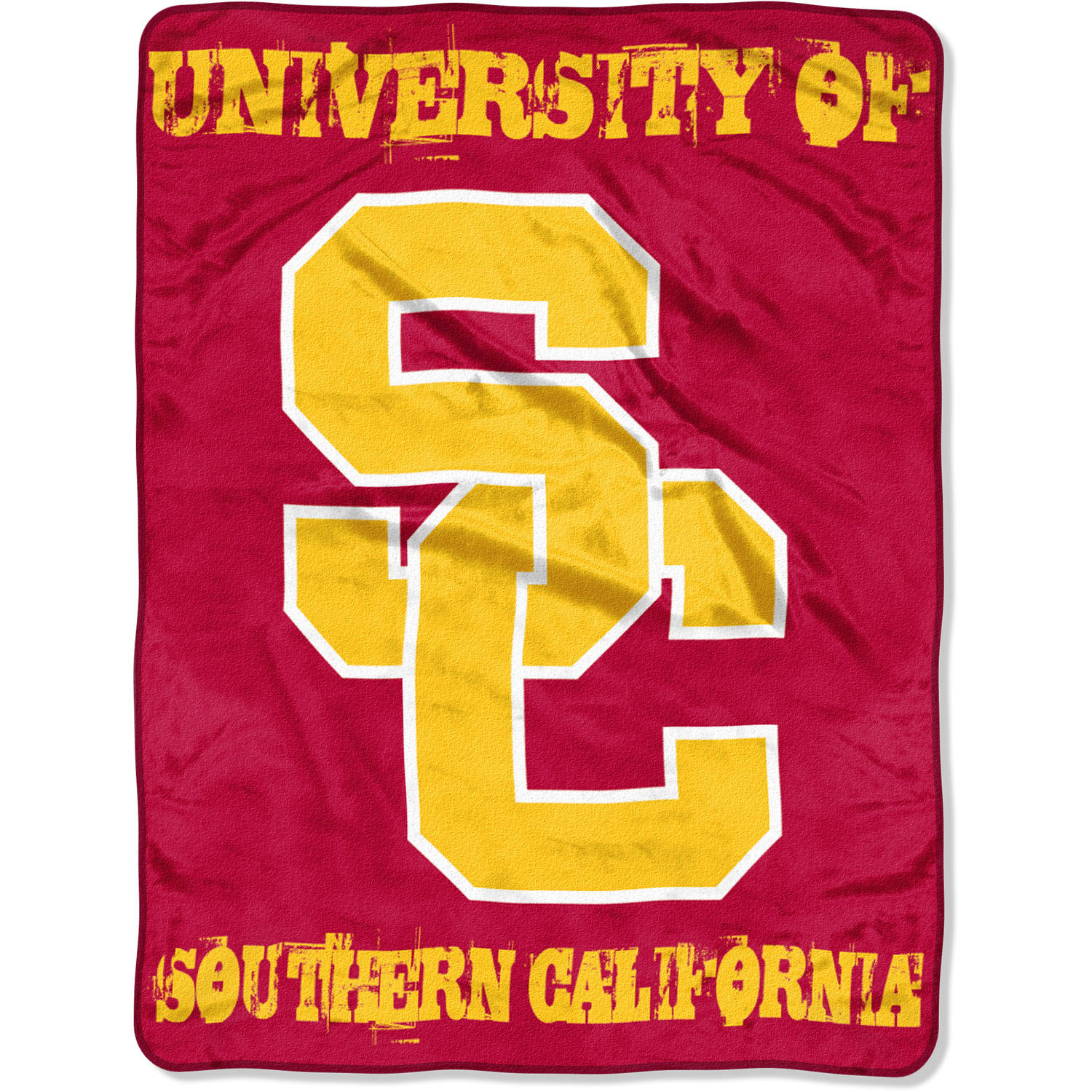 "NCAA USC Trojans 46"" x 60"" Micro Raschel Throw, 1 Each"