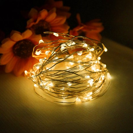 Starry String Lights New BEAMNOVA 60ft Flexible Copper Wire 60 LEDs Fairy Starry String