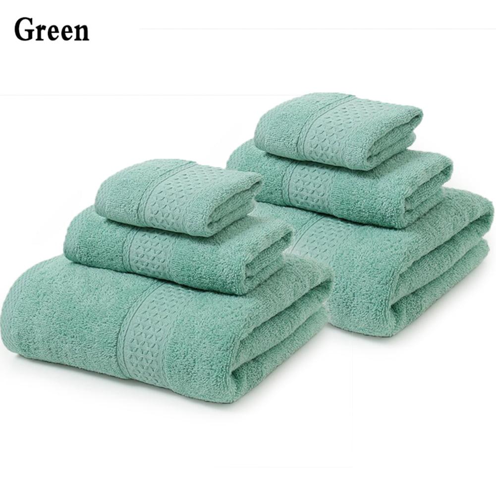 High Quality 6 Piece Sumptuousness 100 Cotton Towel Set Collection