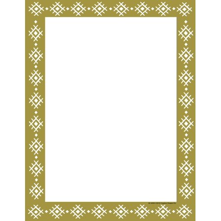Designer Paper - Gold Wrapping Paper (50 Sheet -