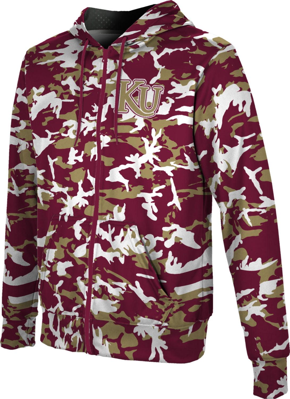 Digi Camo ProSphere Kutztown University Boys Full Zip Hoodie