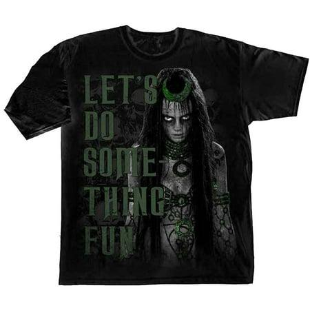 Suicide Squad Enchantress - Let's Do Something Fun Adult T-Shirt - Dc Enchantress