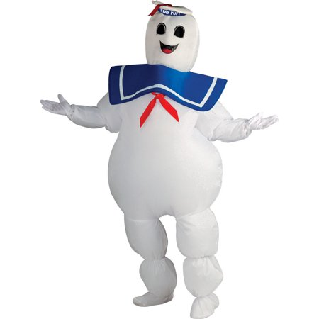 Stay Puft Marshmallow Man Inflatable Ghostbusters Mens Costume 889832](Stay Puft Marshmallow Man Inflatable Lawn Decoration)