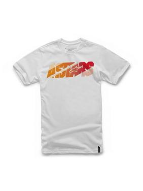 485e12ed24f Product Image Alpinestars Bars 2016 Mens Short Sleeve T-Shirt White