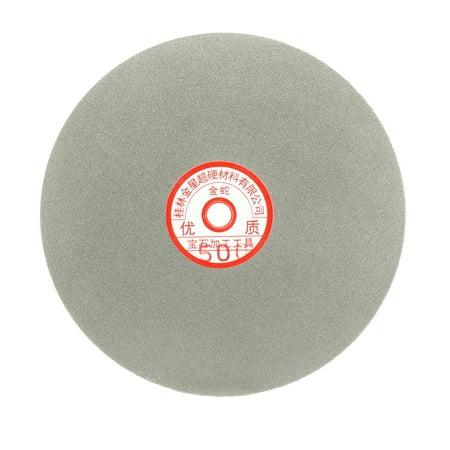 """200mm grain 500 8"""" revêtement Diamant Plat tour roue Disque Disque pon age meulage - image 3 de 3"""