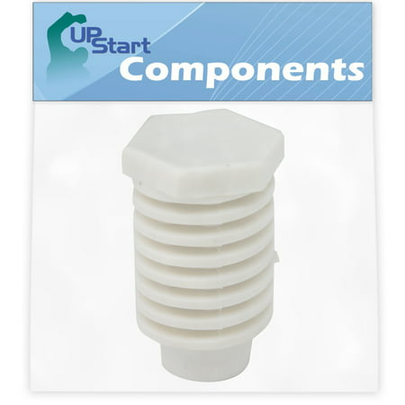 49621 Leveling Foot Replacement for Whirlpool LER7648PT1 Dryer - Compatible with 49621 Dryer Leveling Leg Foot - UpStart Components Brand - image 1 de 3