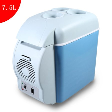 LYUMO 7.5L Mini Fridge Cooler for Car, Portable DC 12V Refrigerator Cooler & Warmer for Home Travel
