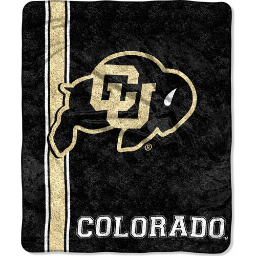"NCAA 50"" x 60"" Sherpa Throw, Colorado"