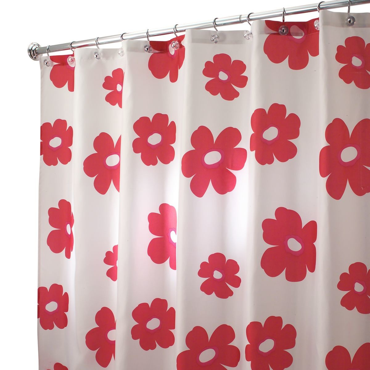 Red shower curtain - Red Shower Curtain
