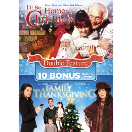 A Family Thanksgiving / I'll Be Home for Christmas (DVD)