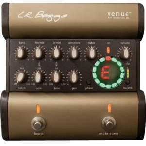 LR Baggs Venue DI Acoustic Guitar Effect Pedal Multi-Colored by LR Baggs