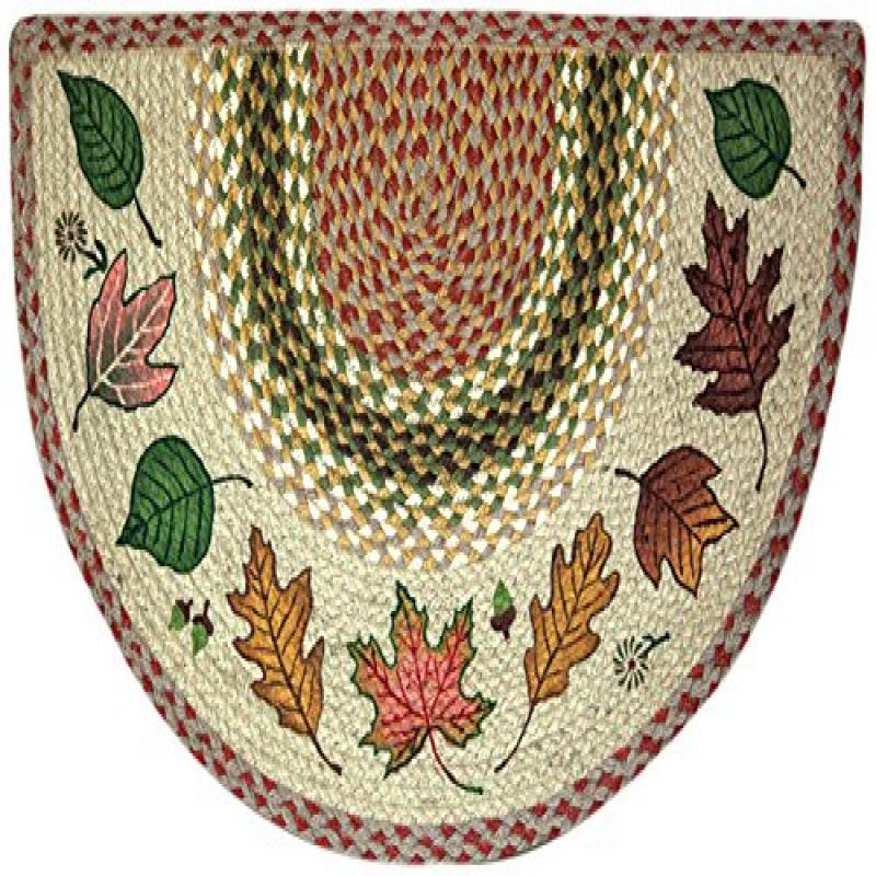 Earthrugs 32 024 Autumn Leaves Slice Rug 18 Inch By 29