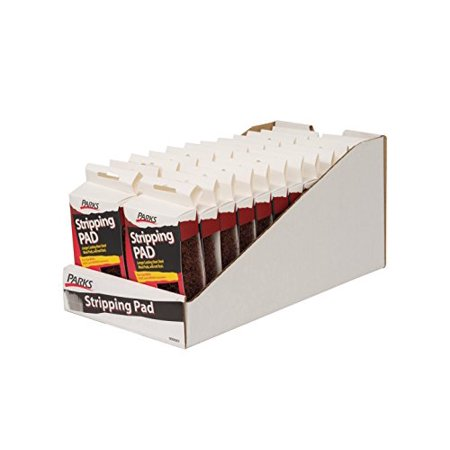Parks Heavy Duty Paint Varnish Stripping Pads 24 Pack (Duty 24 Pack Case)