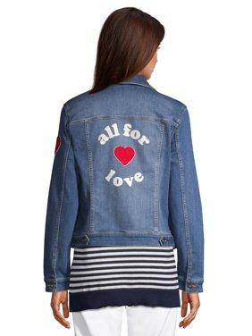 EV1 from Ellen DeGeneres All For Love Denim Jacket Women's