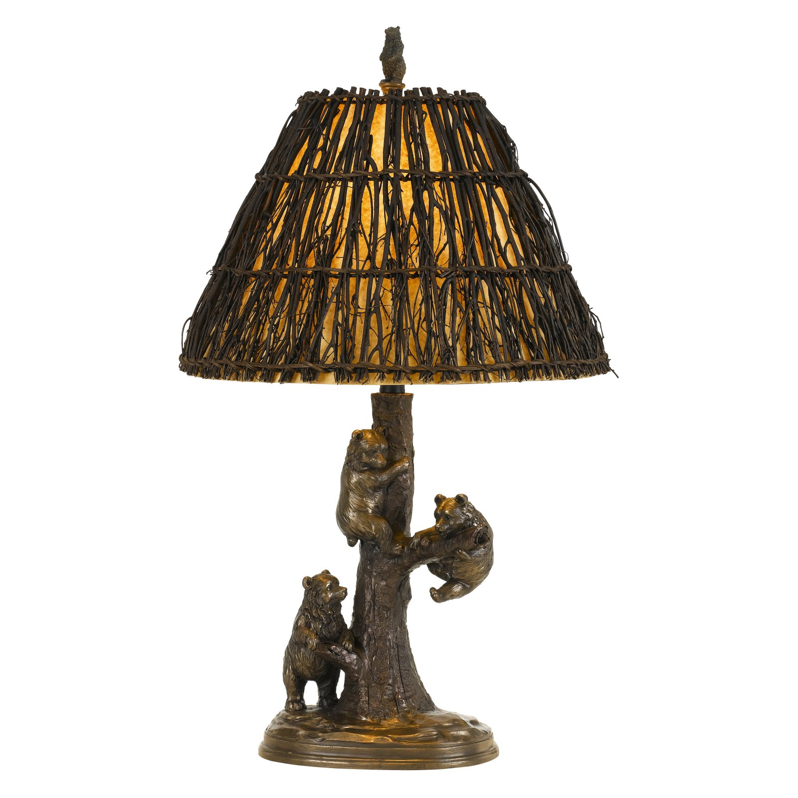 Cal Lighting Bear BO-2663 Table Lamp by CAL Lighting