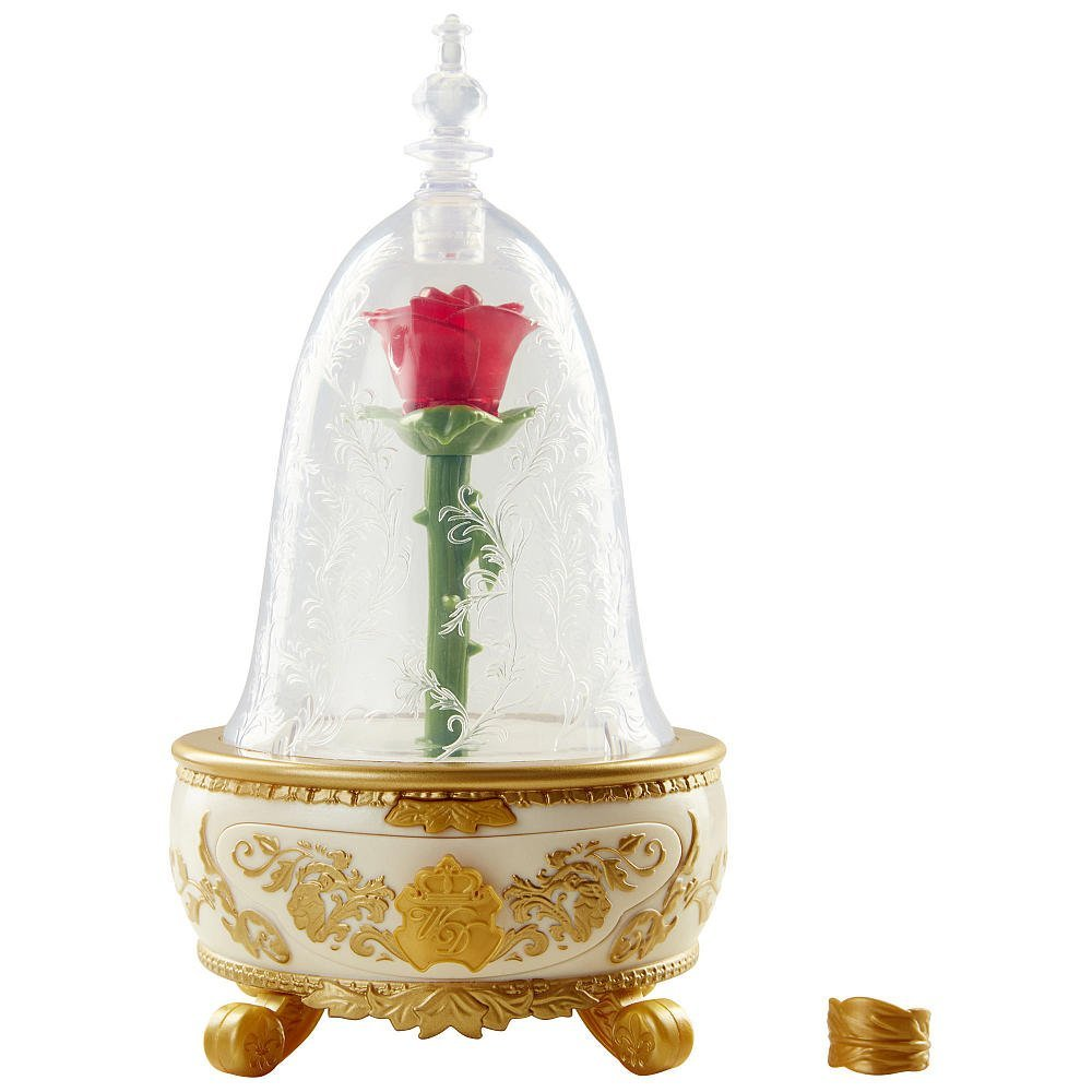Beauty The Beast Live Action Enchanted Rose Jewelry Box