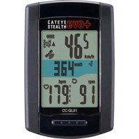 CatEye Stealth EVO Plus GPS Cycling Computer CC-GL51: Black