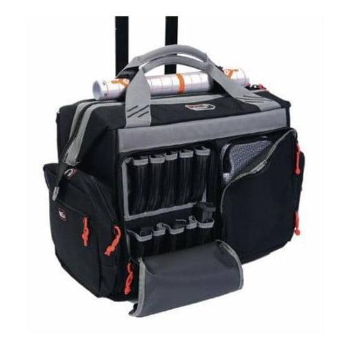 G.P.S. Rolling Range Bag Black GPS-2215RB
