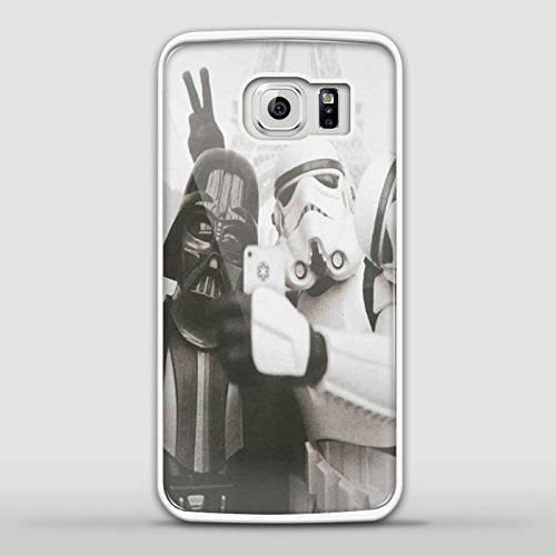Ganma Darth Vader Stormtrooper Selfie Case For Samsung S6 Edge White case