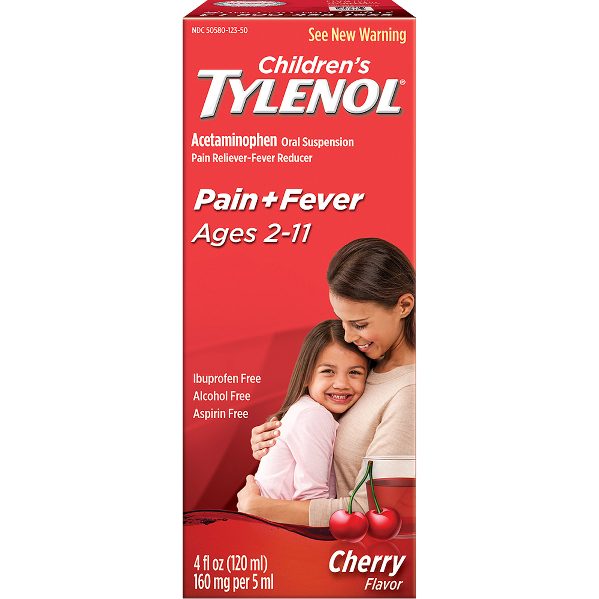 Children's Tylenol: Cherry Blast Flavor Oral Suspension - Ages 2-11, 4 oz