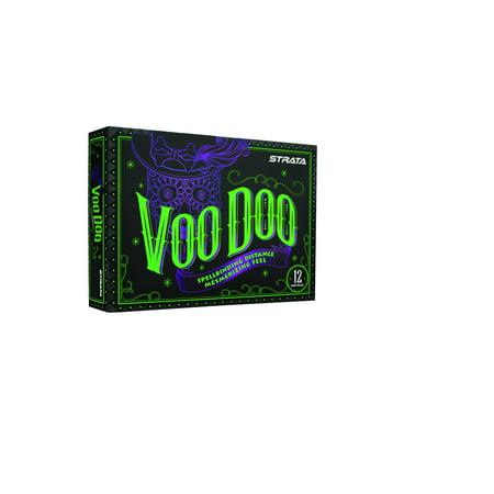 Callaway Strata Voodoo Golf Balls, 12 Pack (Purple Golf Balls)
