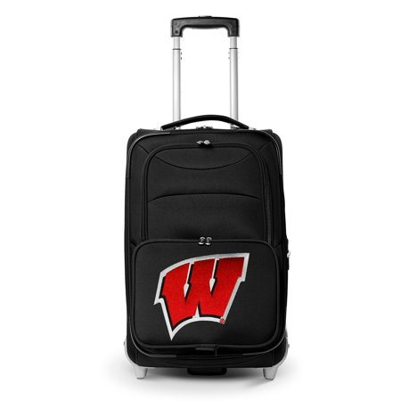 Wisconsin Badgers 21u0022 Rolling Carry-On Suitcase
