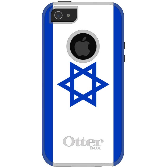 DistinctInk Custom Black OtterBox Commuter Series Case for Apple iPhone 5   5S  ...