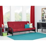 Aiden Futon Frame With Full Mattress Ruby Red