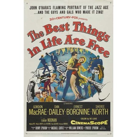 The Best Things in Life Are Free - movie POSTER (Style B) (27