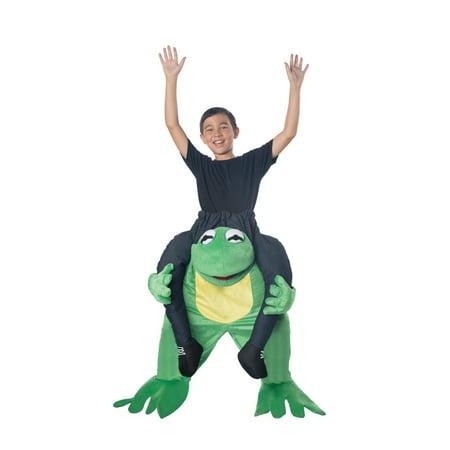 Adopt Me Halloween Costume (Carry Me Frog Child Halloween)