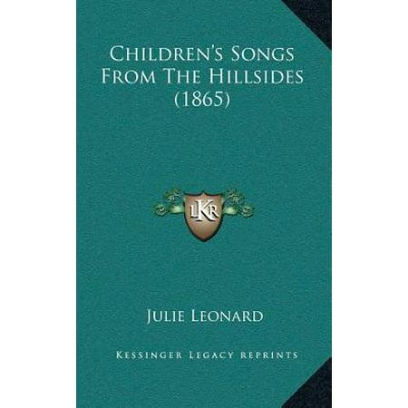 Children's Songs from the Hillsides (1865)