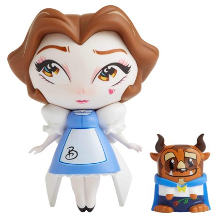 Enesco The World of Miss Mindy Beauty Belle and Mini Beast Vinyl Figurine, 7 Inch,