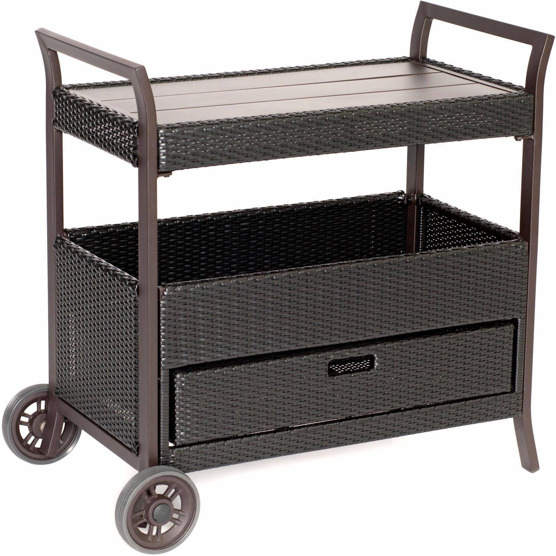 Hanover Outdoor Outdoor Bar Cart