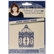 Create and Craft 137880 Tattered Lace Metal Die - Home Sweet Home