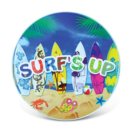 Light Up Coasters (Puzzled Ceramic Coaster Tropical ?Surf?s Up?, 0.25 Inch Thick Intricate & Meticulous Detailing Art Handcrafted Decorative Drinkware Coasters Nautical Coastal Beach Themed Home & Kitchen)