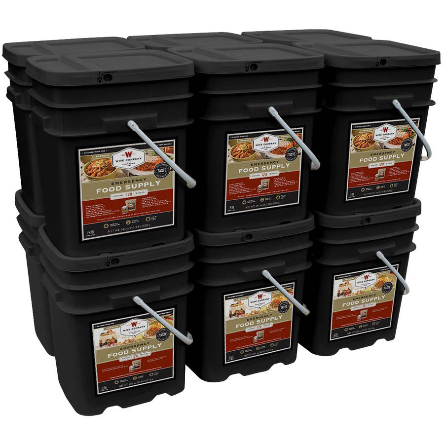 Wise Company Combination Breakfast/Entree & Soup Emergency Food Supply Kit, 1440 pc