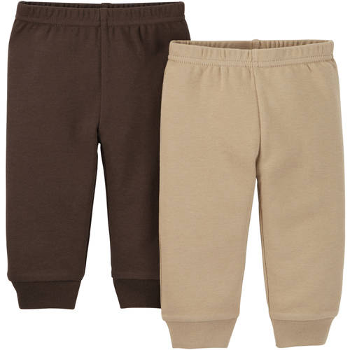 Child Of Mine by Carter's Newborn Baby Boy Pant, 2 Pack