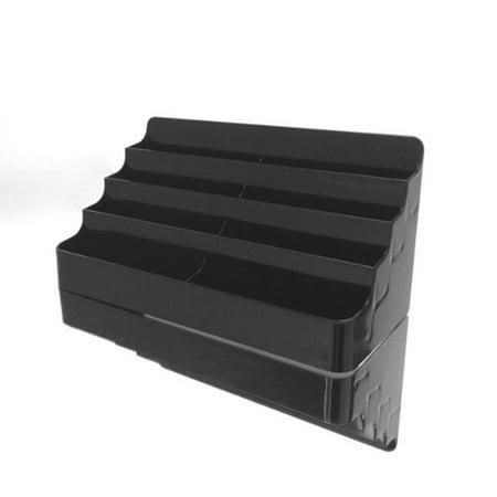 BLACK 8 POCKET BUSINESS CARD HOLDER, BLACK 8 POCKET BUSINESS CARD HOLDER By Marketing Holders Ship from US