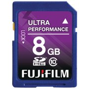 FUJIFILM - Flash memory card - 8 GB - Class 10 - SDHC