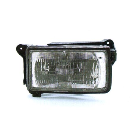 Aftermarket 1991-1997 Isuzu Rodeo  Aftermarket Driver Side Front Head Lamp Assembly 8943146262-V
