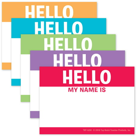 Hello My Name Is- Name Tags - Company Name Tags