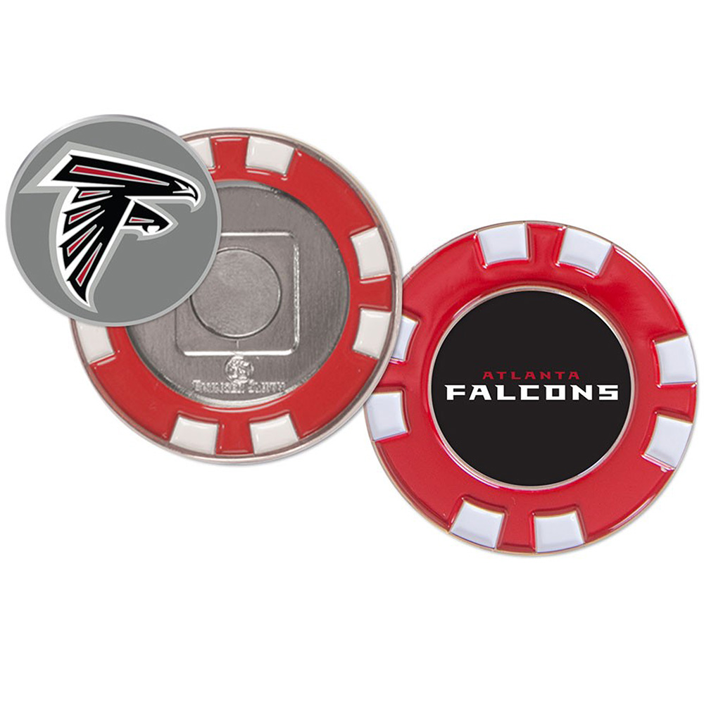 Atlanta Falcons WinCraft Golf Poker Chip - No Size
