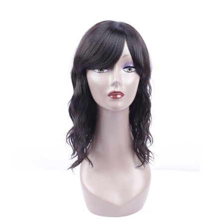 BEAUDIVA Brazilian Water Wave Human Hair Wigs Natural Color 130% Lace Wigs With Full End Wigs 1642
