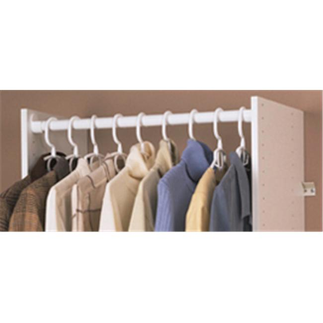 Easy Track Wardrobe Rods With Ends - image 1 of 1