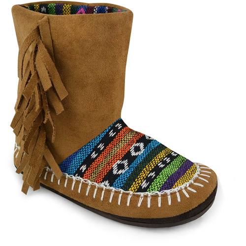 MUK LUKS Girl's Tiffany Slipper Boot
