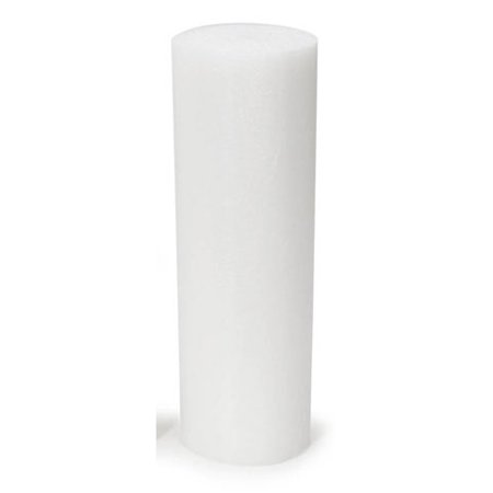 Styrofoam Pole: Extruded, White, 12 x 4 - 12 Inch Styrofoam Balls Wholesale