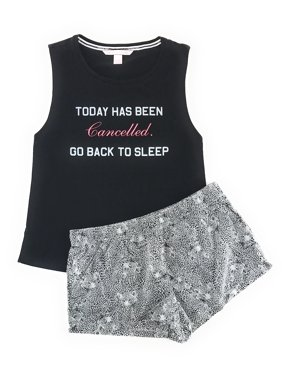 79440953c8 Product Image Victoria s Secret Mayfair Graphic Tank and Shorts Pajama Set