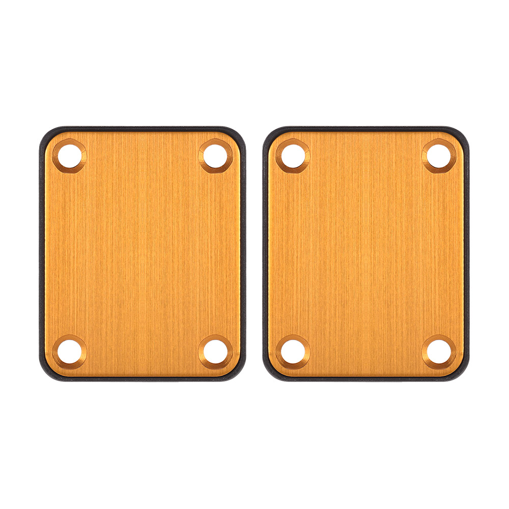 Gold Neck Joint Plate for Electric Guitar