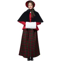 9f4da36ee4e86 Product Image Holiday Caroler Woman Adult Costume